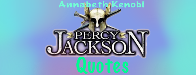 12 Funny Percy Jackson Quotes