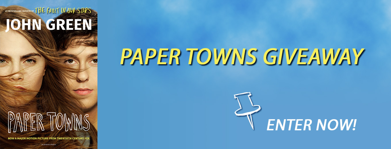Paper Towns Giveaway!