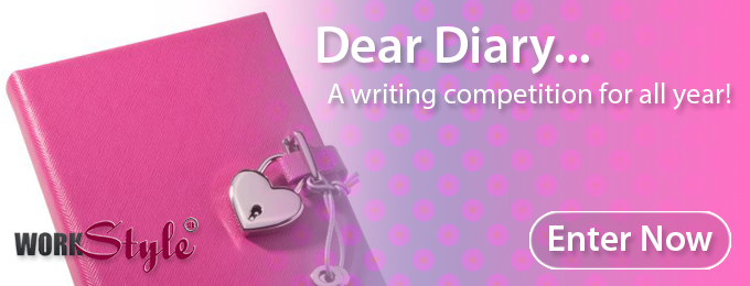Dear Diary Winner for August 2015!