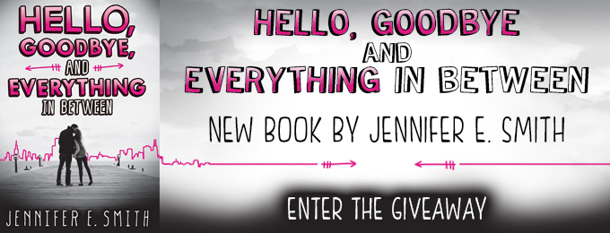 Hello, Goodbye and Everything in Between Giveaway!