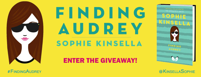 Finding Audrey GIVEAWAY