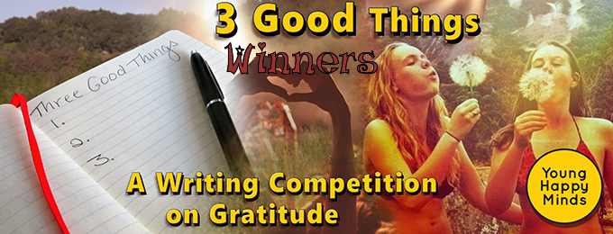 3 Good Things Winners