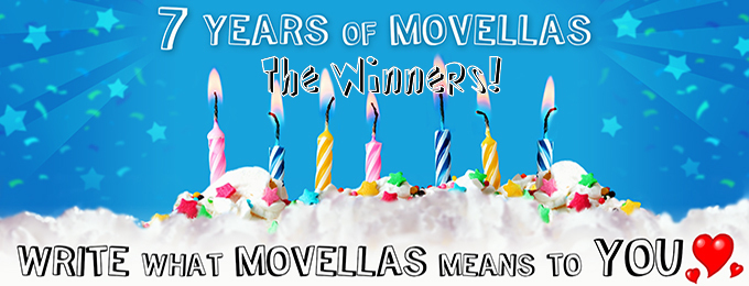 The 7 Years of Movellas Winners!