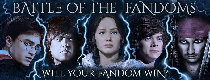 Winners of the Battle of the Fandoms!