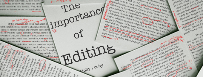 The Importance of Editing