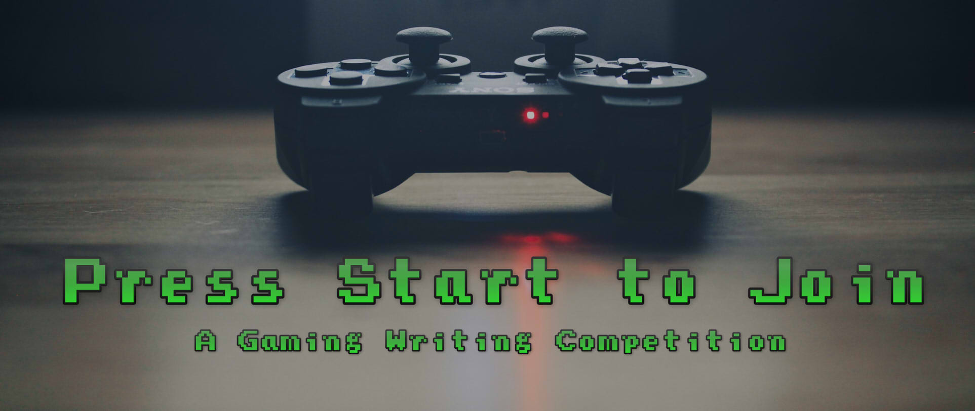 Press Start to Join: A Gaming Writing Competition!