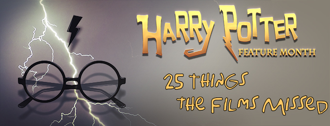 Harry Potter & 25 Things the Films Missed