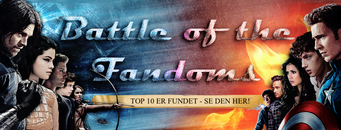 Battle of the Fandoms - TOP 10