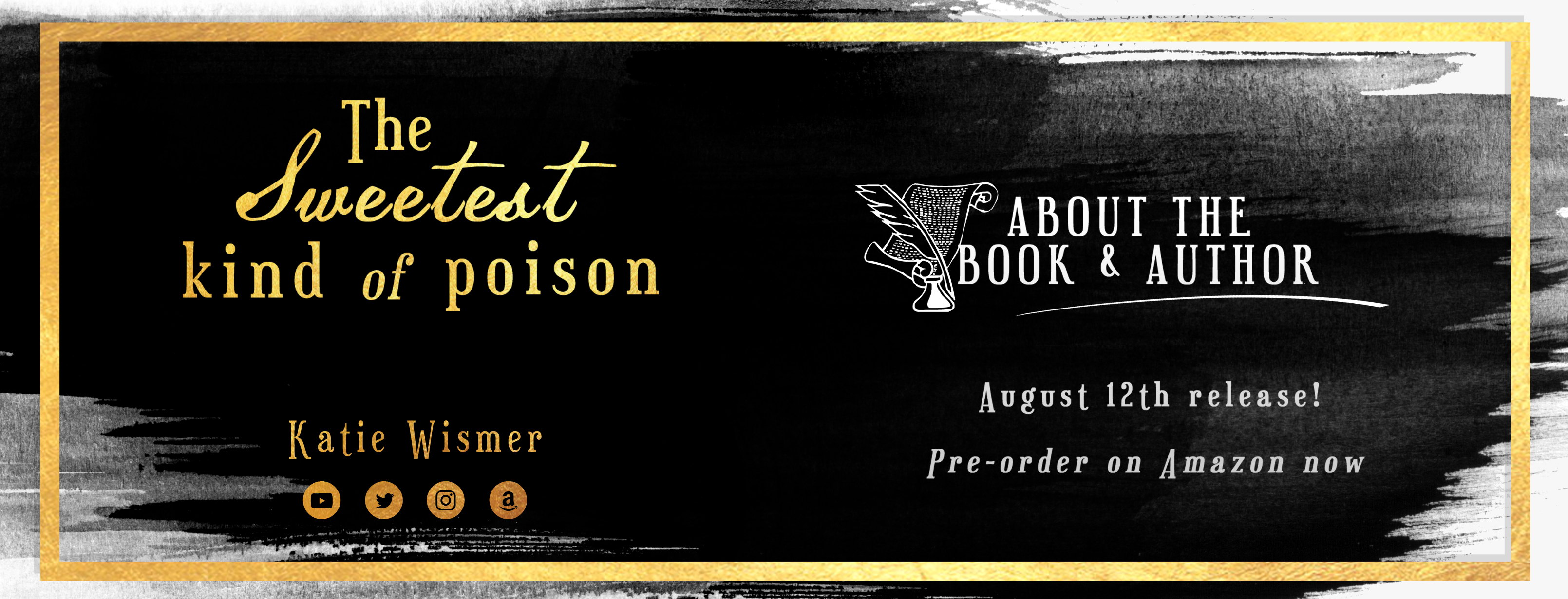 The Sweetest Kind of Poison | About the Book & Author