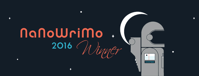 2016 NaNoWriMo Winner!