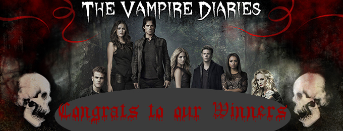 Winners of the Vampire Diaries Competition!