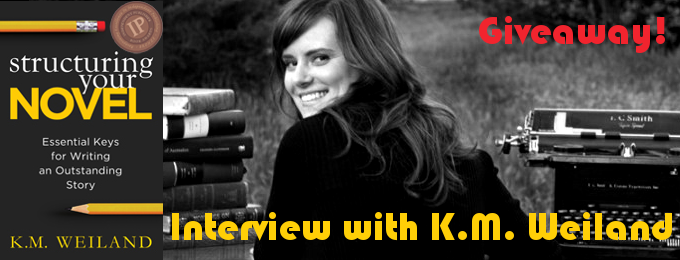 Giveaway and interview with K. M. Weiland