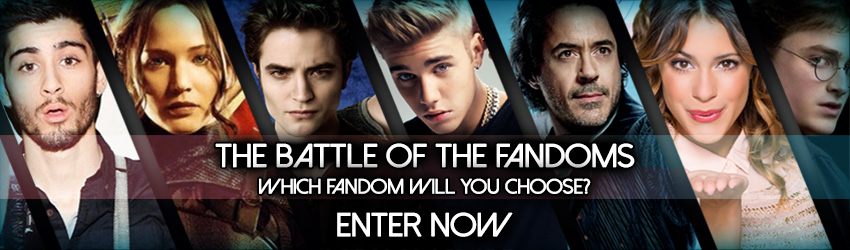 The Battle Of The Fandoms Competition is open