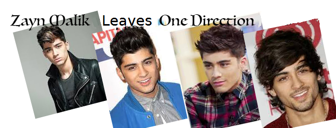 Zayn Malik Leaves One Direction
