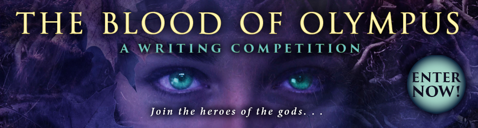 Pre-order The Blood Of Olympus UK Paperback!