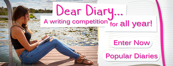 Dear Diary Winner For March 2016!